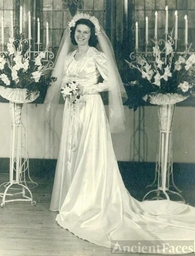 Ruth Sloan Happy Bride