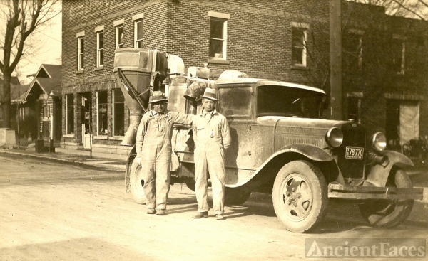 Craigville, IN farm truck 1934