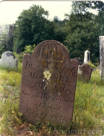 Mary Warner gravestone
