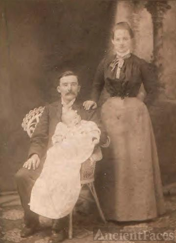 James & Mary Ann Jones Lewis 1880