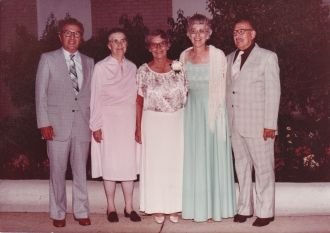 Helen Lieblang & Siblings, Michigan