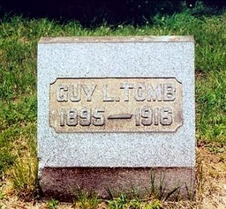 Headstone of Guy L. Tomb