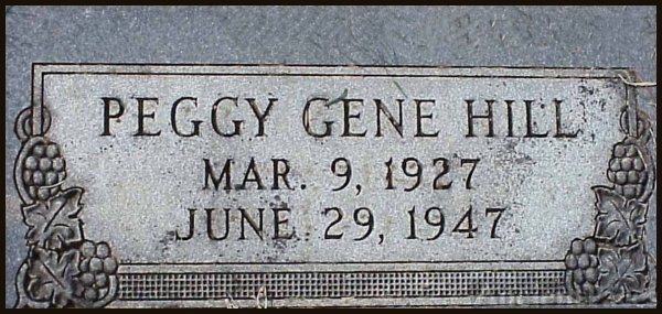 Peggy Gene Hill