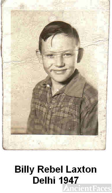 Billy Rebel Laxton, OK 1947