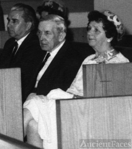 Edward & Annie (Silvius) McDonald at wedding 1965-ish
