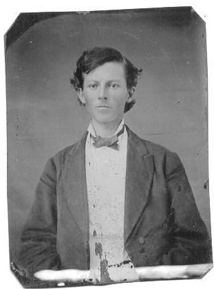 John Robert Banks (tin type)