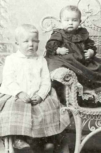 A photo of Grant Oliver and Stella May Wilson