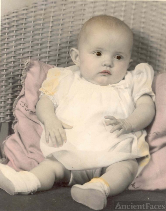 Phyllis Jean Branson Baby Picture