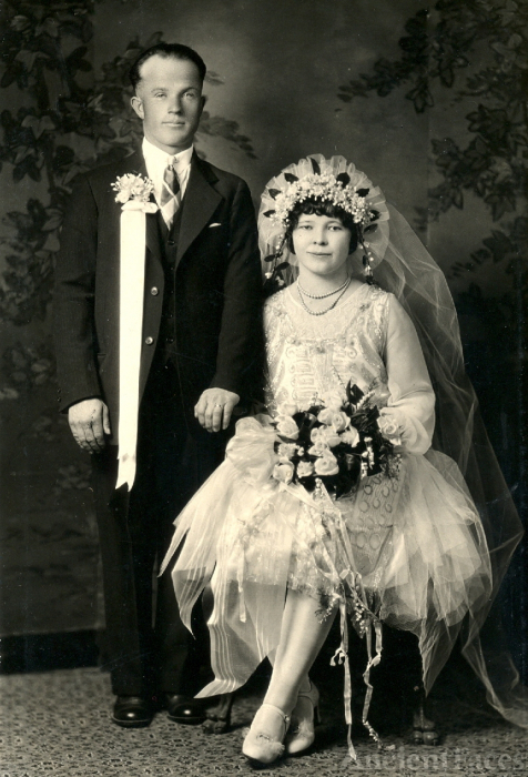 Wedding Picture - 1920s Oregon