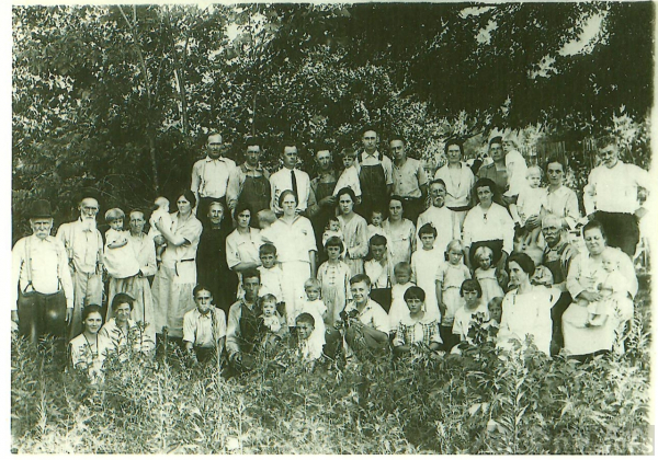 Lee, Long & Short Reunion in TN 1923