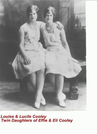 Louise and Lucile  Cooley