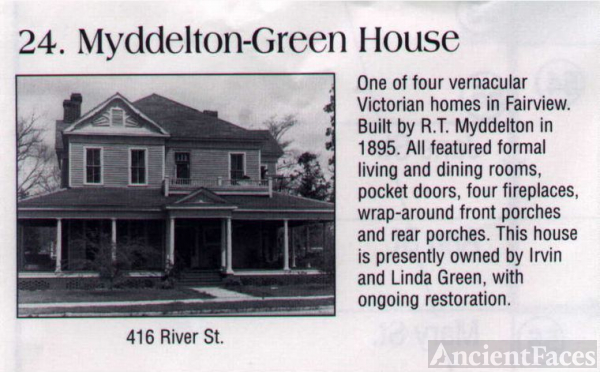 Myddelton-Green House