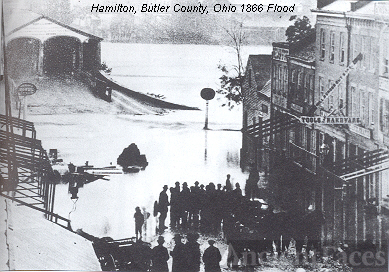 Great Miami River Flood of 1866