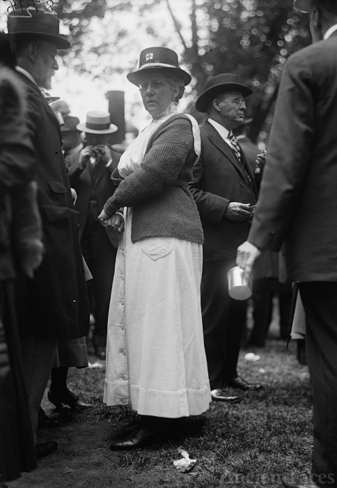 Mrs. Hugh L. Scott - 1917 Red Cross Event