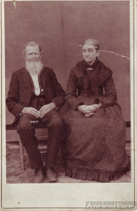 Unknown Georgia Couple circa 1900