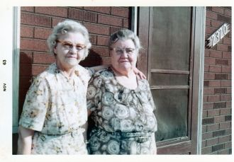 Nora (Johns) Gleditch & Olive (Johns) Lee