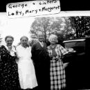 George, Mary, Margaret, & Letitia Huck, 1935