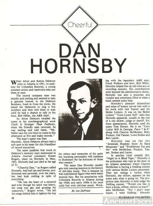 Dan Hornsby article