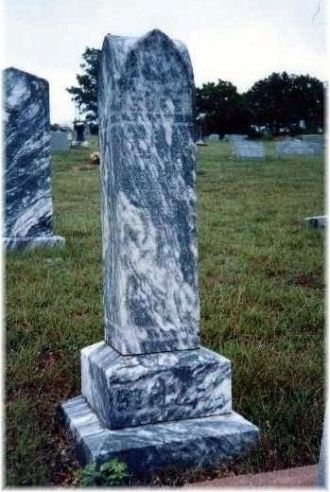 Mary Hardin Burkitt headstone