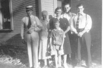 Unknown family possibly from Highland co, OH