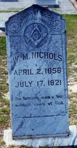 Grave of William M. Nichols