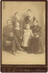 William S. Mitchell family photo