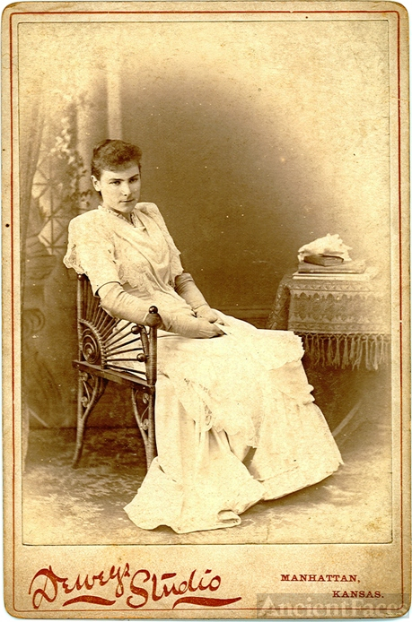 Mary Harman - Kansas 1893