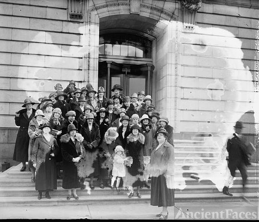 Delegation of Maryland women at Capitol on prohibition...