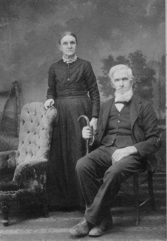 John & Elizabeth (Smith) Dinwiddie, Washington 1895