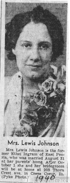 Ethel Ingram  1940