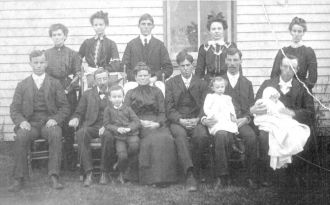 A photo of Mae (Ellis) Mullen (Start Back Row)