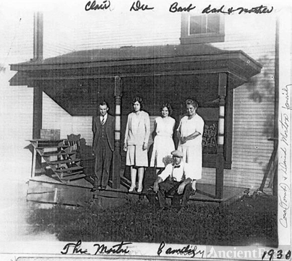 The Morton Family, 1930