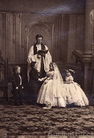Tom Thumb, 1863 Wedding