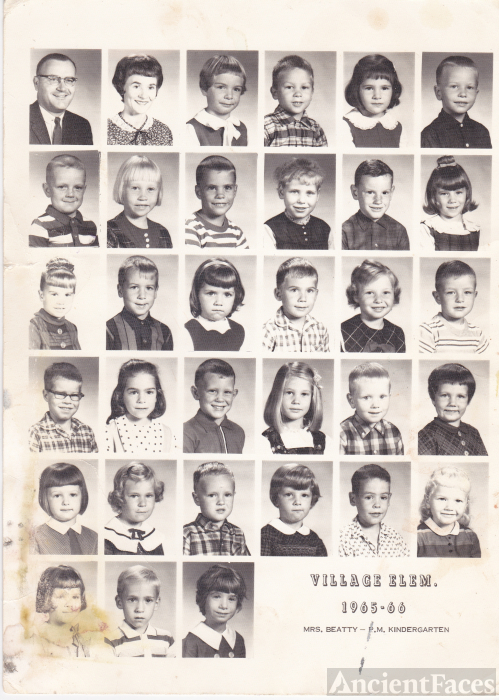 Diane Nagel Class Photo