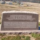 Marker for Earl Floyd and Lillian (Whitten) Floyd