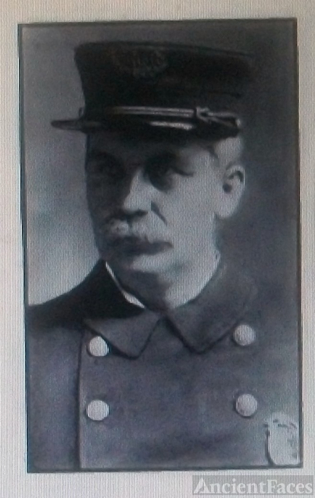 W. F.Dinneen, Chief of Police - 1909 North Adams