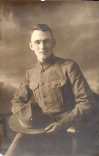 Waldo Freligh Newberry WWI
