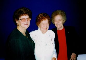 Maudine Snellings, Mary Hall, & Lillian Mae Self