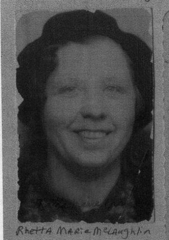A photo of Retta Marie (McLaughlin) Carter Brieman