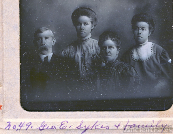 George E Sykes family