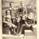 Young Abe and cousins