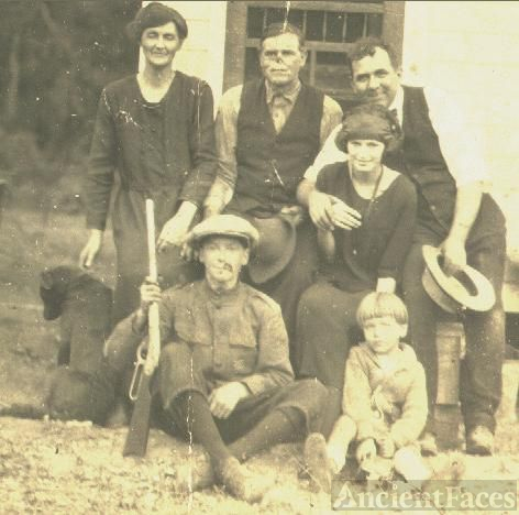 Elbert McFarland Cook And Family