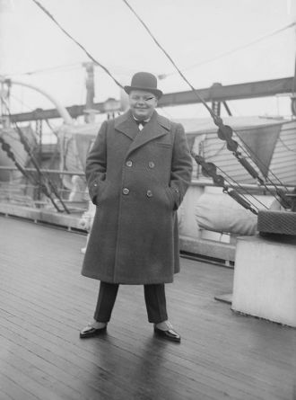 "A photo of Roscoe Conkling ""Fatty"" Arbuckle"