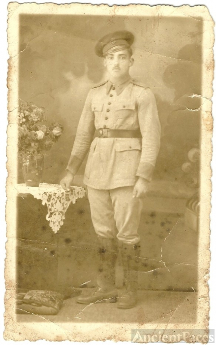 Pereira Man in the Military