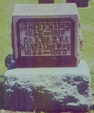 James F. and Moroa I. Mapes Gravesite