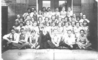 Avenue B School in 1935