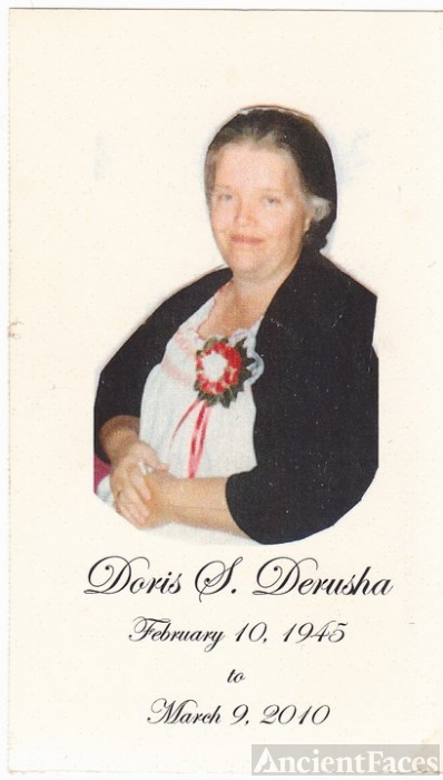 Doris Derusha Memorial