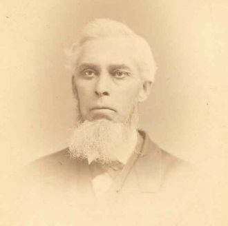 A photo of Reverend Joshua T. House