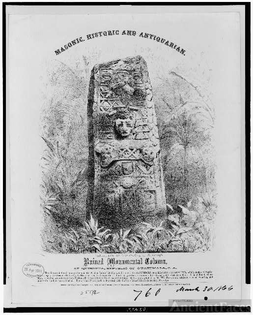 Masonic, historic and antiquarian. Ruined monumental...