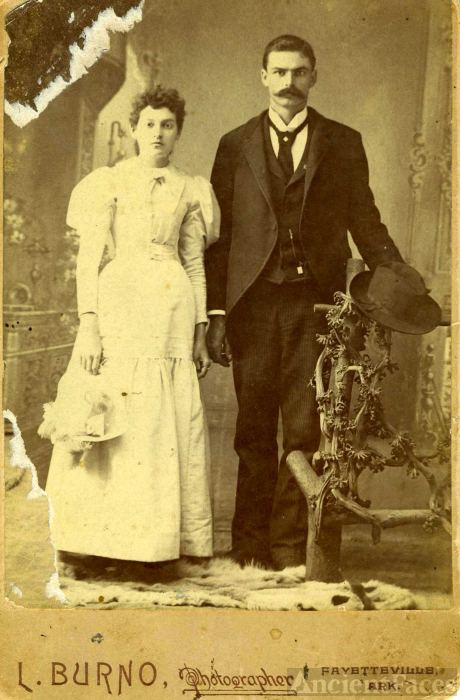 Polly Ann and Clark Lewis Burcett